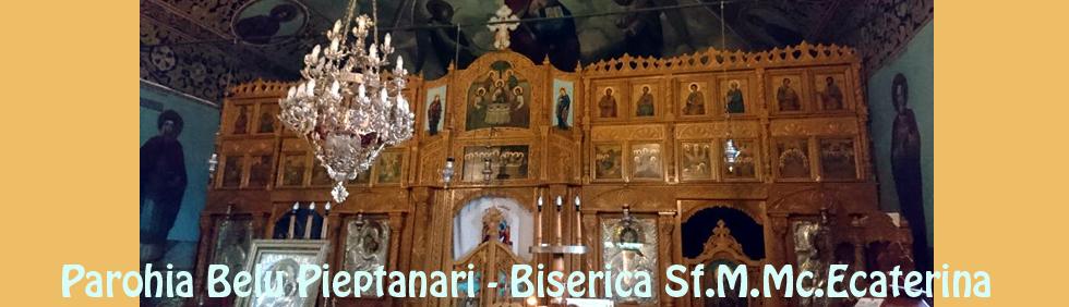 catapeteasma Biserica Sf Ecaterina prGheorghe Niculescu
