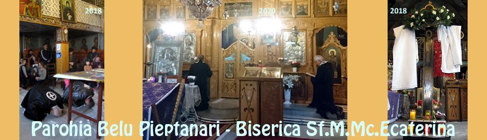 Biserica Sfanta Ecaterina Belu Pieptanari
