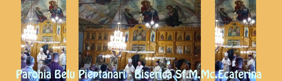 Biserica Sf Ecaterina ordine si distinctii bisericesti
